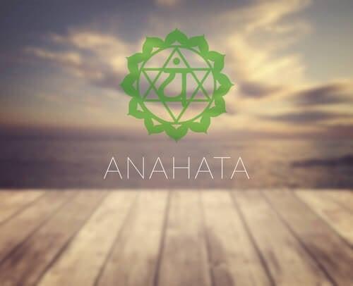 Symbolet for chakraen Anahata