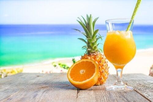 Ananas giver gode vitaminer til hjernen