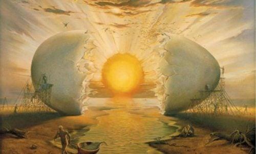 Æg der symboliserer solopgang