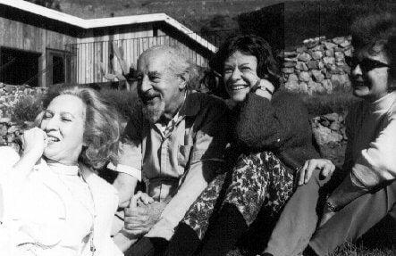 Fritz Perls mellen venner