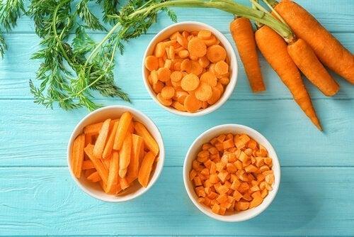 Gulerødder giver gode vitaminer til hjernen