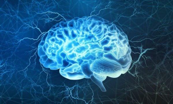 Lys i hjernen illustrerer en hjerne tsunami