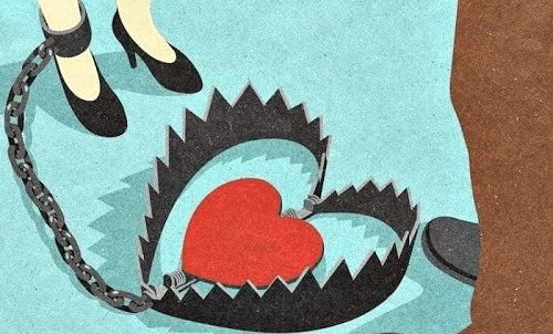 Kærlighed kan være en fælde for forholdsafhængige
