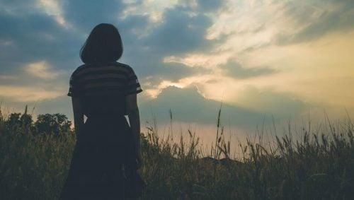 Kvinde på mark har formået at vende tilbage til livet efter et traume