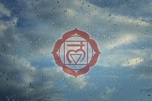 Symbolet for chakraen Muladhara