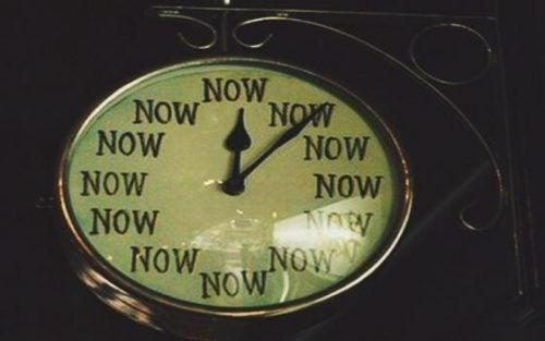 """Ur, der viser tiden """"nu"""""""