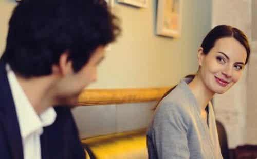 Kærlighed ved første blik, kærlighed ved øjenkontakt