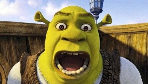 Tegnefilmsfiguren Shrek