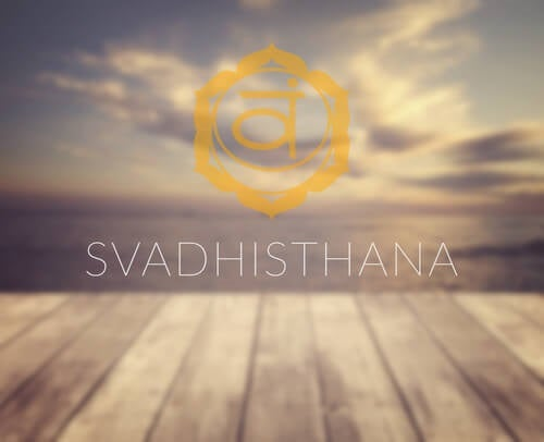 Symbolet for chakraen Svadhisthana