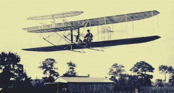 En af de første luftmaskiner