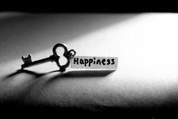 Nøglen kan vise, hvad lykke er