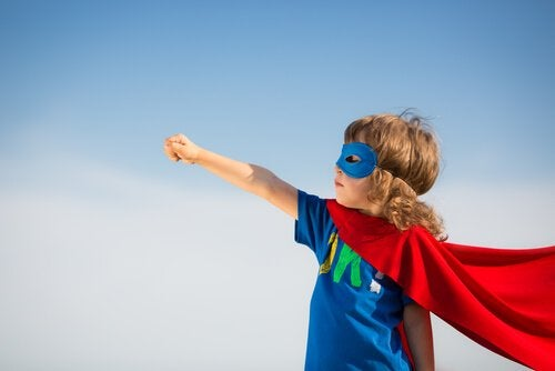 Dreng som superhelt