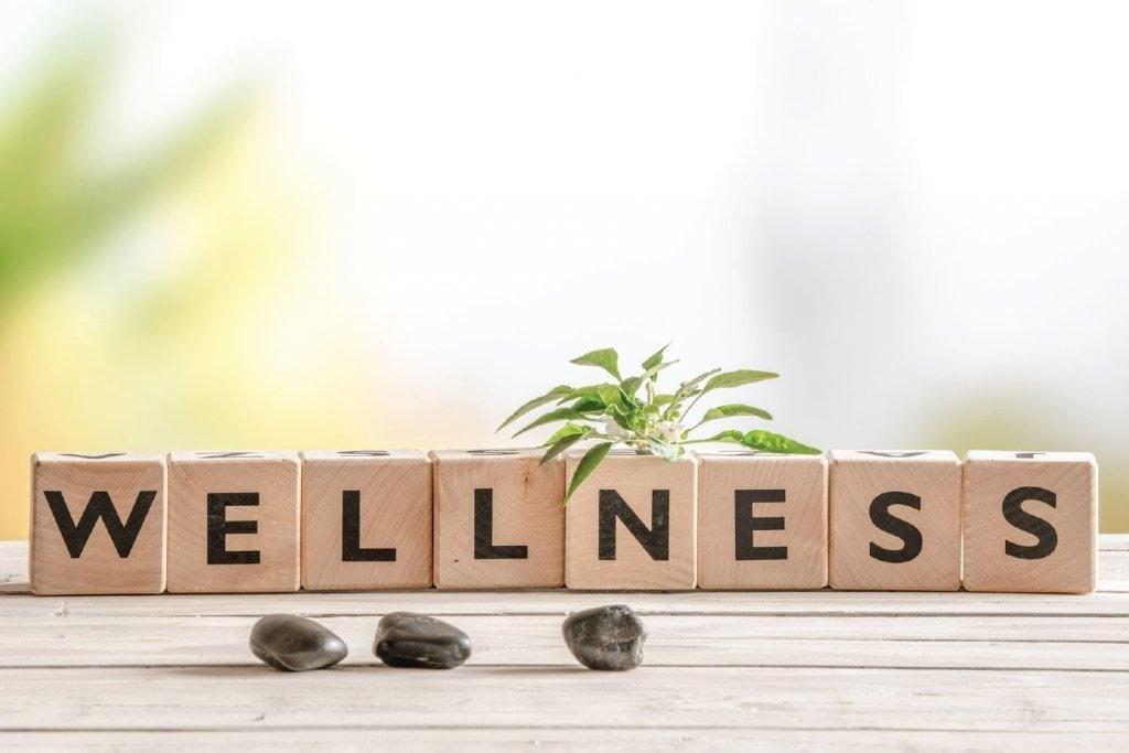bogstaver skriver wellness