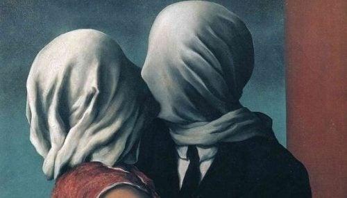 Par med dækket ansigt