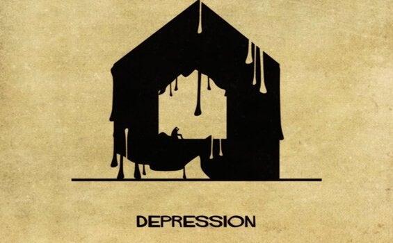 Depression som hus