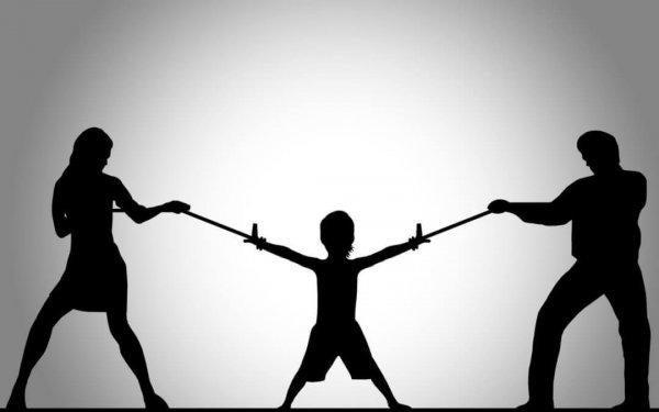 Forældrenes kamp om børnene kan føre til forældrefremmedgørelse