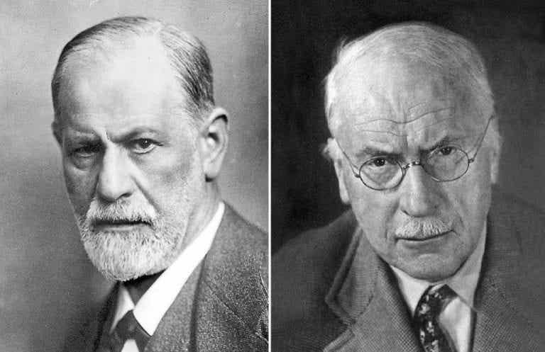 10 fascinerende forskelle på Freud og Jung