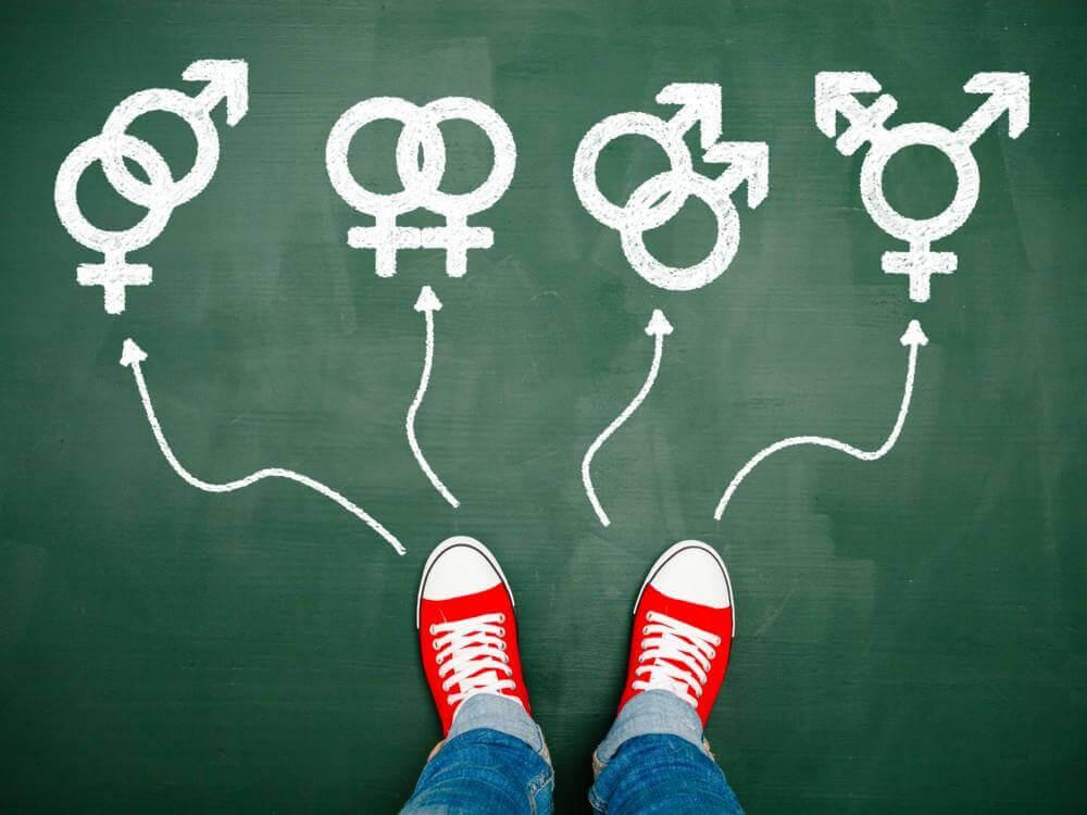 Person skal vælge mellem forskellige typer seksuel orientering