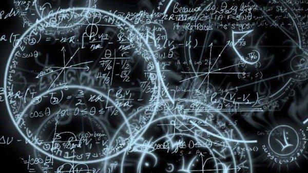 Tegninger på tavle illustrerer, at der måske er flere universer
