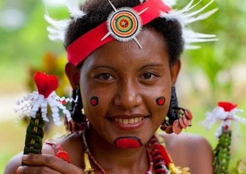 En indfødt kvinde