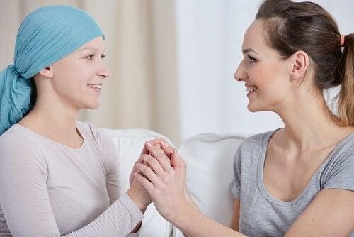 kvinde med kræft