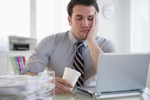 Mand på arbejdsplads er præget af boreout-syndrom