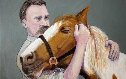 Grunden til, at Nietzsche omfavnede en hest og græd