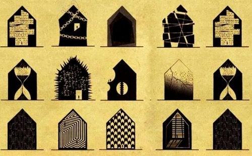 Hvordan ville psykiske sygdomme se ud som huse?