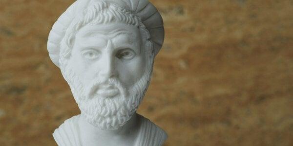 Pythagoras er mest kendt for sin berømte læresætning