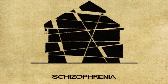 Skizofreni som hus