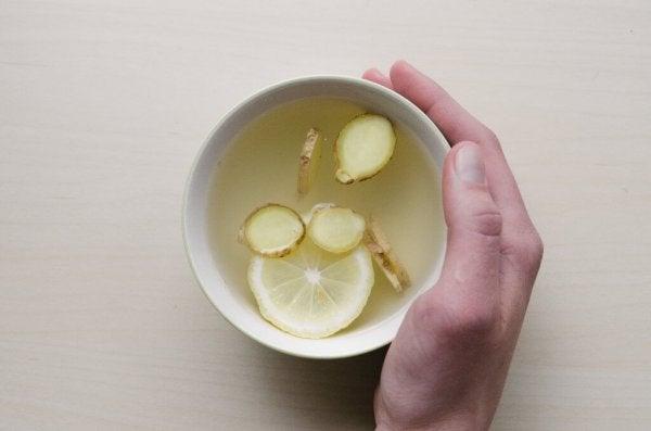 te med ingefær