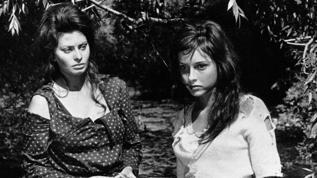Filmen Two Women fortæller historien om de grusomheder italienske kvinder blev udsat for under 2. verdenskrig