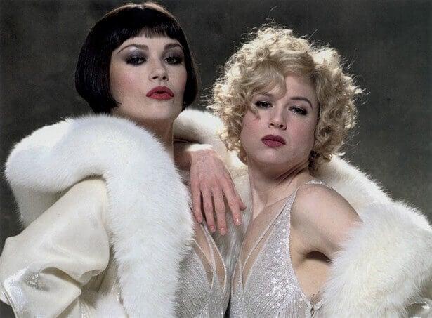 De to hovedroller fra filmen Chicago