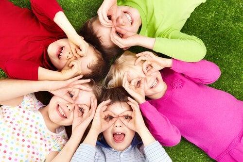 Børns koncept af venskaber udvikler sig meget i alderen 2-6 år