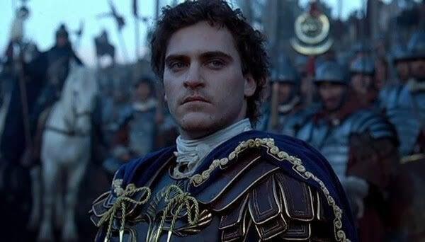 Commodus fra The Gladiator