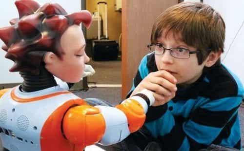 Avancerede robotter og børn med autisme