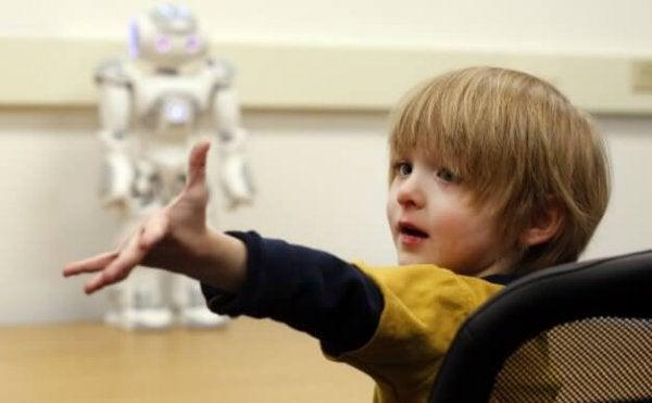 Børn med autisme og robotter