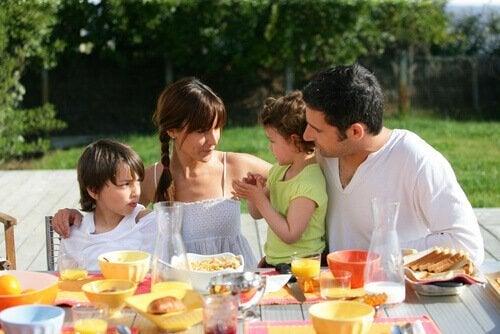 Tiden med familien er nok et af dagens vigtigste øjeblikke