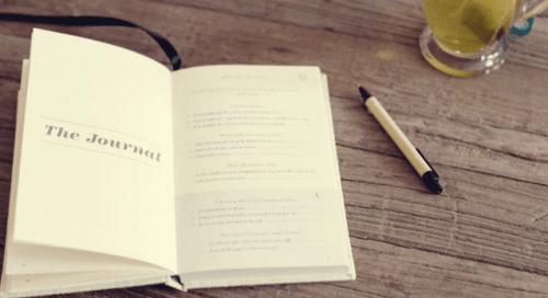 En five minute journal kan gøre dig gladere