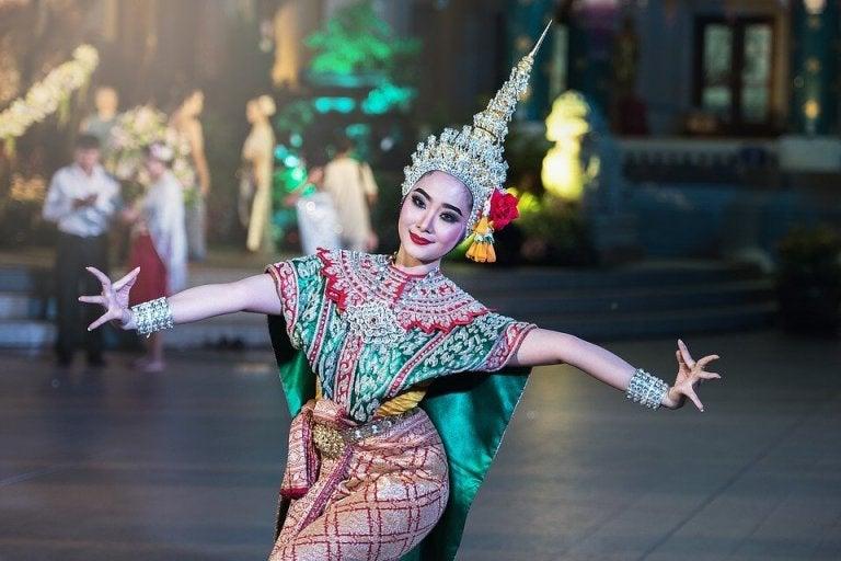 danserinde fra Østen