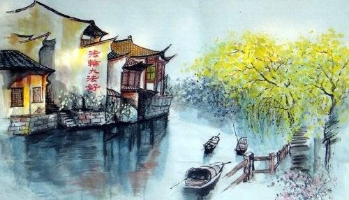 Krydse floden: En gammel historie om zen