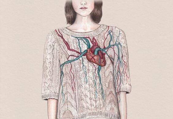Et hjerte symboliserer de ting, der får os til at føle os i live, som vi finder indeni os selv