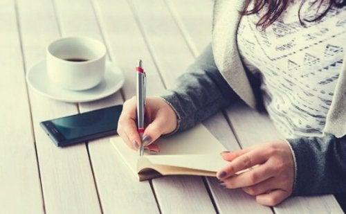 Find glæde med Five Minute journal