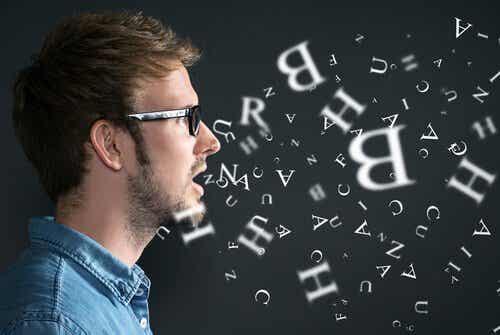 Brocas området og evnen til at lave sprog