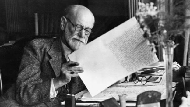 Sigmund Freud i arbejde