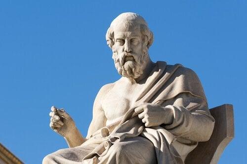 Statue af Platon