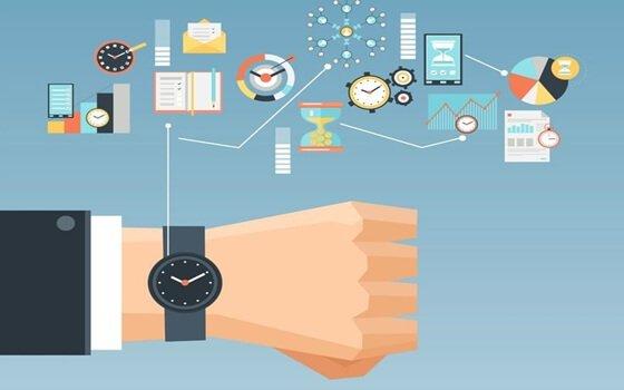 ur, der viser opgaver