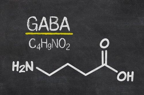 Formlen til GABA
