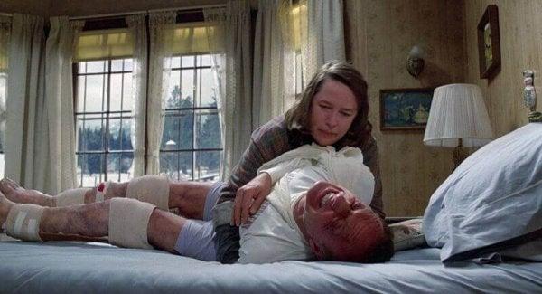 Sheldon som en af Annie Wilkes ofre