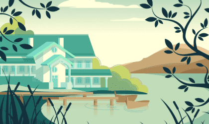 Den smukke lignelse om huset uden en herre